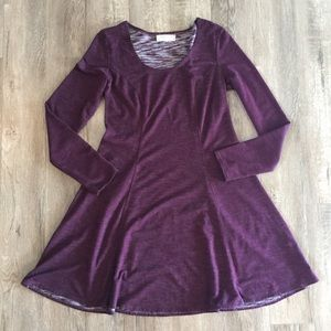 Max Studio Purple Dress